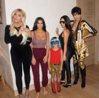 Kardashians Dressing Up As Each Other