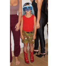 Kardashians Dressing Up As Each Other - Penelope as Kylie