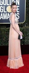 Kate Mara Baby Bumps at the Golden Globes