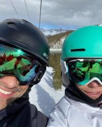 Kelly Ripa Instagram Celebrity Snowbunnies