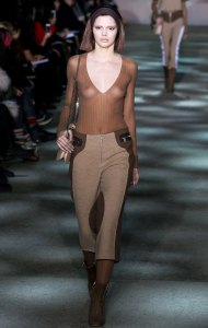 Kendall Jenner Talks Showing Her Breasts for First Fashion Show at Just 18