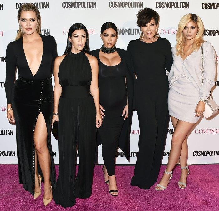 Khloe Kardashian Kourtney Kardashian Kim Kardashian West Kris Jenner and Kylie Jenner Caitlyn Jenner Reveals She Apologized to Her Kids After Fans Slammed Them Over Im a Celebrity Snub