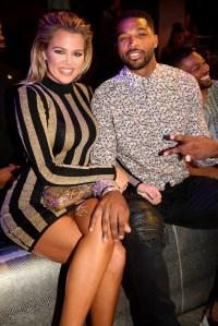Khloe Kardashian, Tristan Thompson Reunite at Kardashian Party