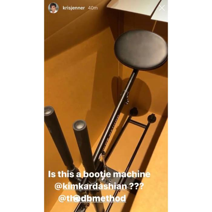 Kim Kardashian Gave Her Mom and Sisters the DB Method Machine Used for Booty Sculpting