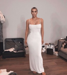 Kim Kardashian and Kylie Jenner Borrowed Dress