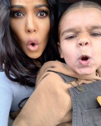 Kourtney Kardashian Instagram Reign Sweet Messages for Mason and Reign on Joint Birthday