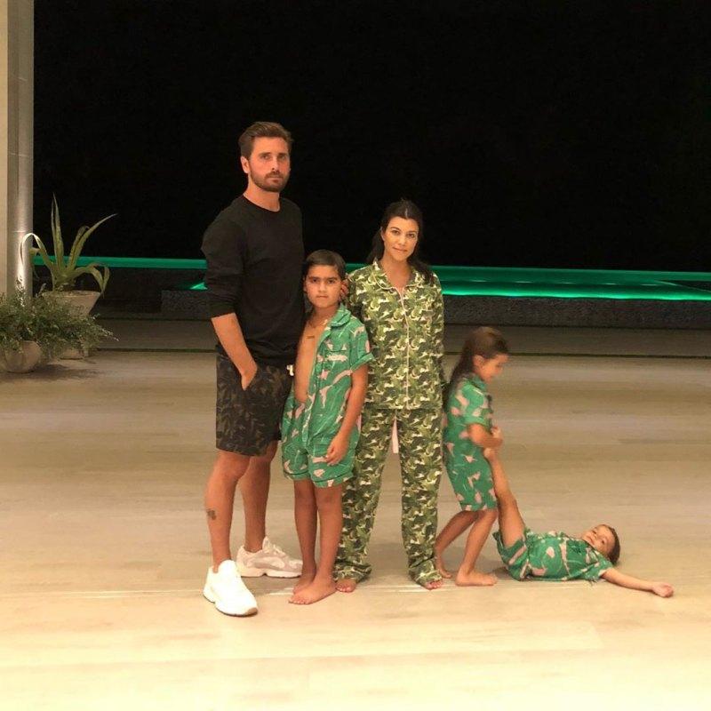 Kourtney Kardashian Shares Pics of Mason and Reigns