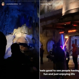 Kourtney Kardashian and Younes Bendjima Spend a Day at Disneyland as Reconciliation Rumors Ramp Up