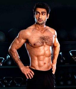 Kumail Nanjiani Debuts Ripped Body Shirtless Photos