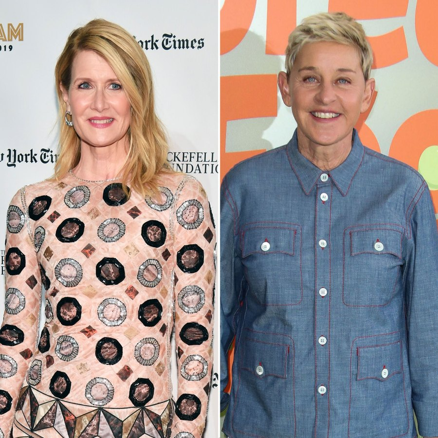 Laura Dern Says People in Her Life 'Really Worried' for Her Safety After Ellen DeGeneres' Coming-Out Episode
