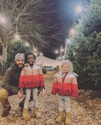Thomas Rhett and Lauren Akins Celebrity Kids Helping Pick and Decorate Christmas Trees