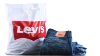 Levi's Shopping Bag and Jeans
