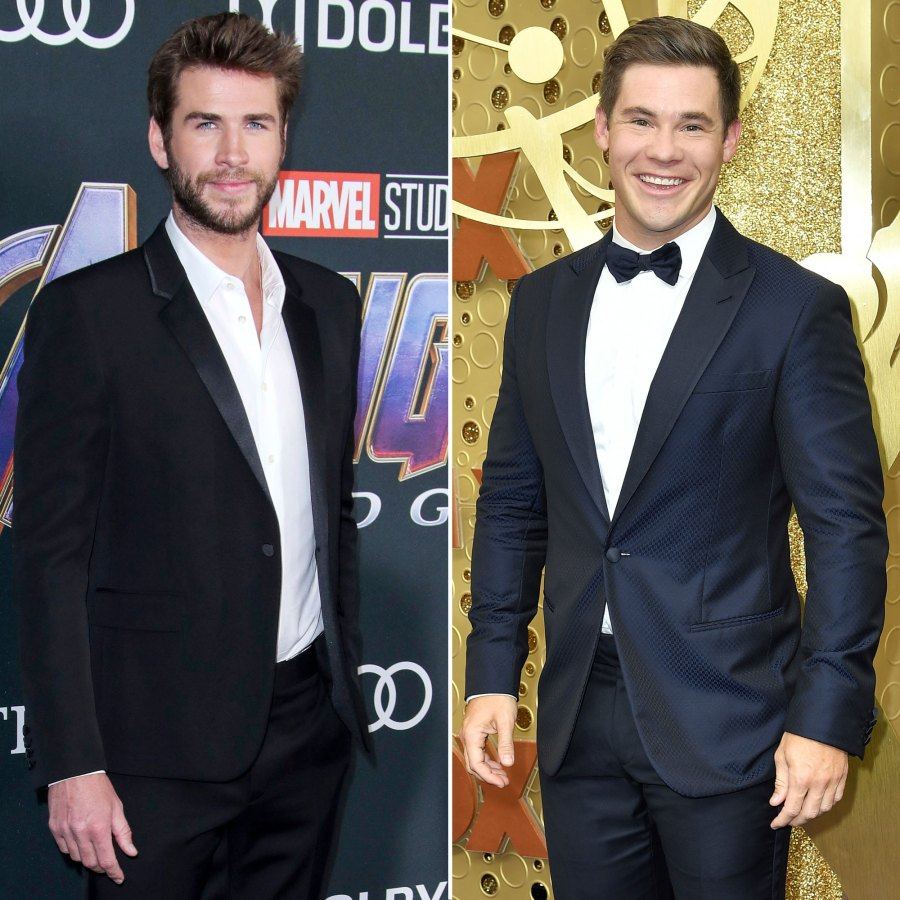 Liam Hemsworth and Adam Devine Comment Thirst Trap