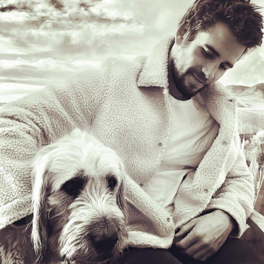 Liam Hemsworth and Dog Dora Thirst Trap Instagram