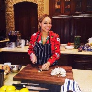 ماريا كاري تطبخ لمدة ثلاثة أيام على التوالي كل ديسمبر