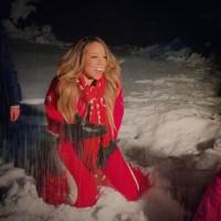 Mariah Carey Instagram Celebrity Snowbunnies