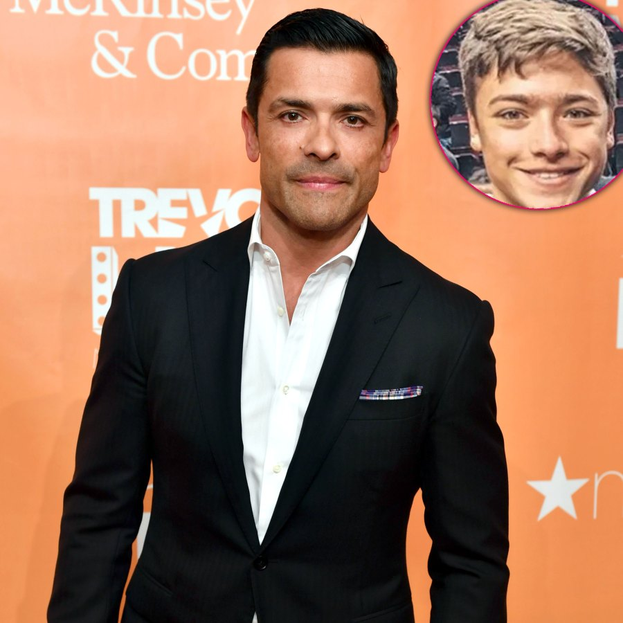 Mark Consuelos Gets Riled Up At Son S Wrestling Match