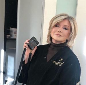 Martha Stewart New Haircut