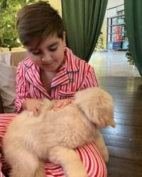 Mason New puppy Kourtney