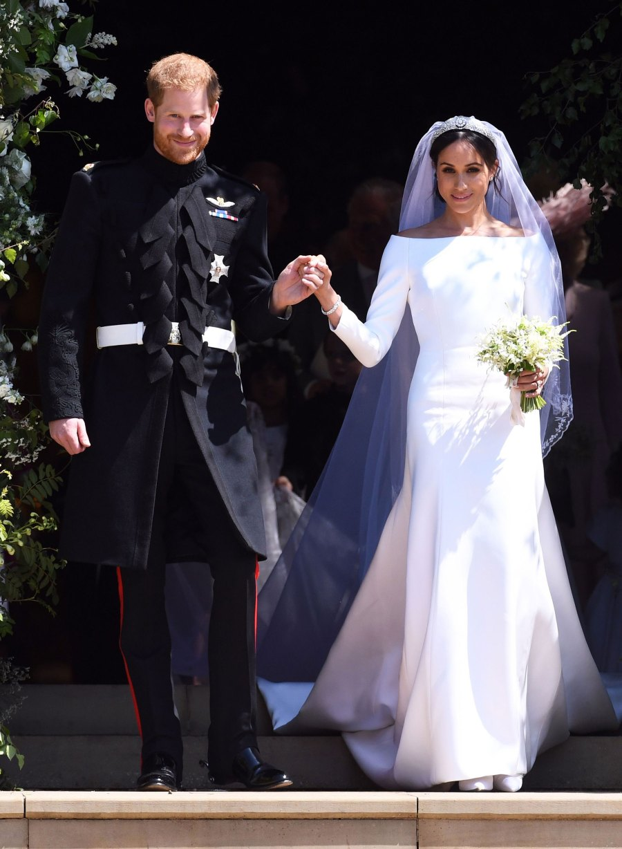 May 2018 Meghan Markle and Prince Harry Married Biggest Royal Stories of Decade