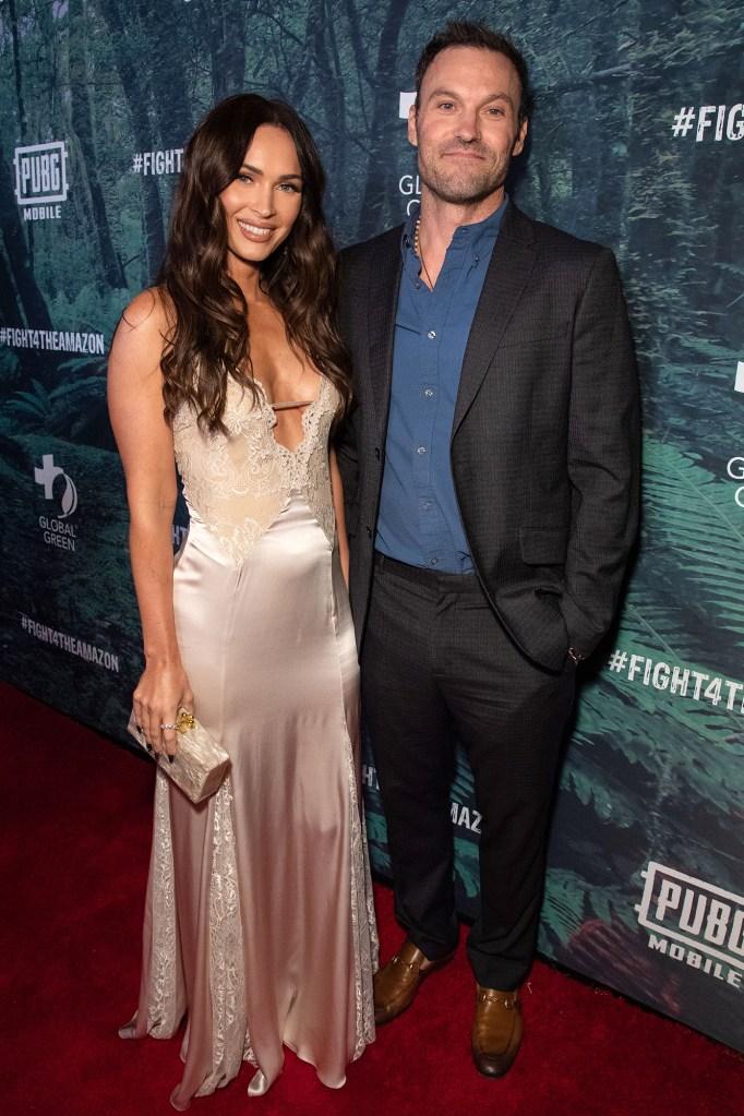 Megan Fox and Brian Austin Green PUBG