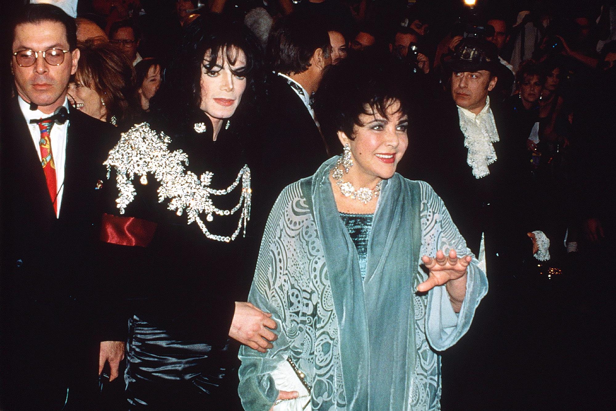 Michael Jackson Elizabeth Taylor 1997