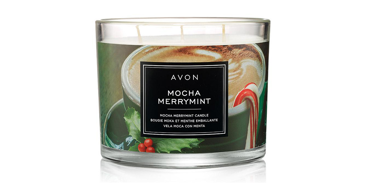 Mocha Merry Mint Scented Candle