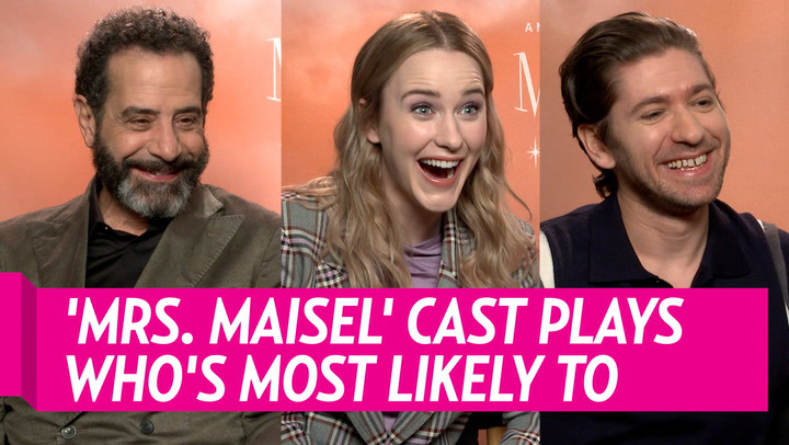 Mrs Maziel cast plays most likely to