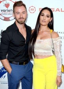 Nikki Bella: I Was 'Really Nervous' to Meet Artem Chigvintsev's Parents