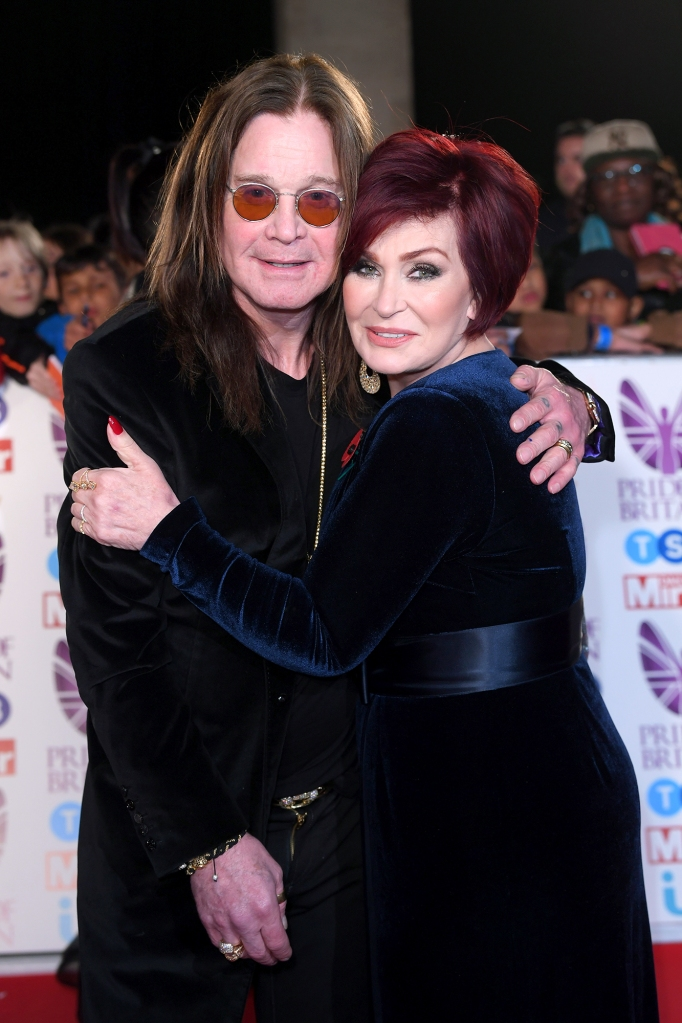 Ozzy Osbourne and Sharon Osbourne Pride of Britain Awards