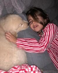 Penelope Kourtney new dog