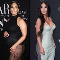 Pregnant Ashley Graham Shares Kim Kardashian's Advice in 'Vogue' Interview