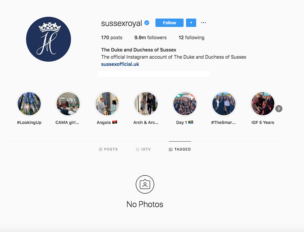 Prince-Harry,-Duchess-Meghan-Don't-Show-Tagged-Photos-on-Instagram