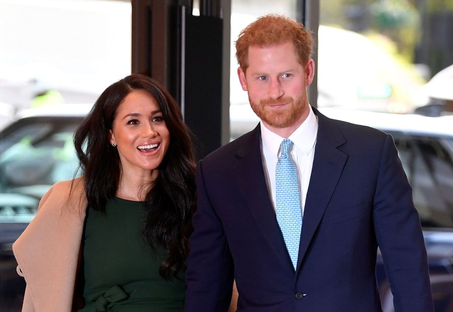 Prince Harry and Meghan Markle Duchess of Sussex Santa