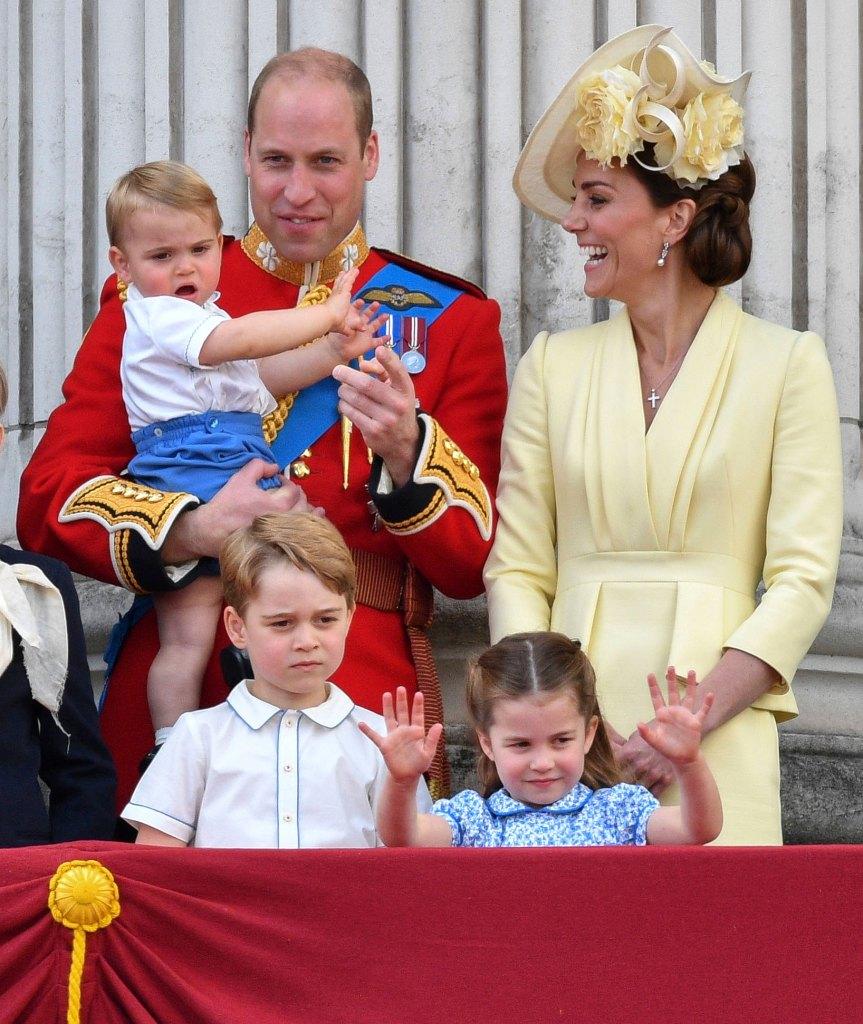 Prince William, Kate, Children's Birthdays Prince William, Catherine Duchess of Cambridge, Prince Louis, Prince George, Princess Charlotte