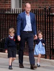 rince William: Prince George and Princess Charlotte Are 'Interested' in Homeless People They See on Way to School