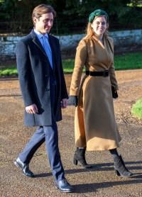 Princess Beatrice Christmas Day Look December 25, 2019