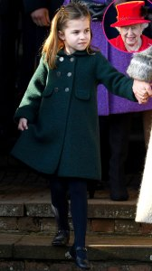 Princess Charlotte Subtle Christmas Curtsy to Queen Goes Viral