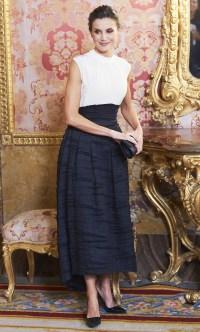 Queen Letizia H&M Skirt December 2, 2019