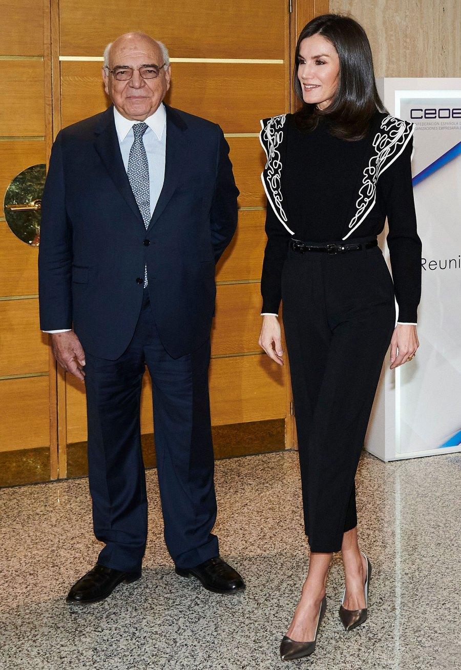 Queen Letizia Runway Dress December 10, 2019