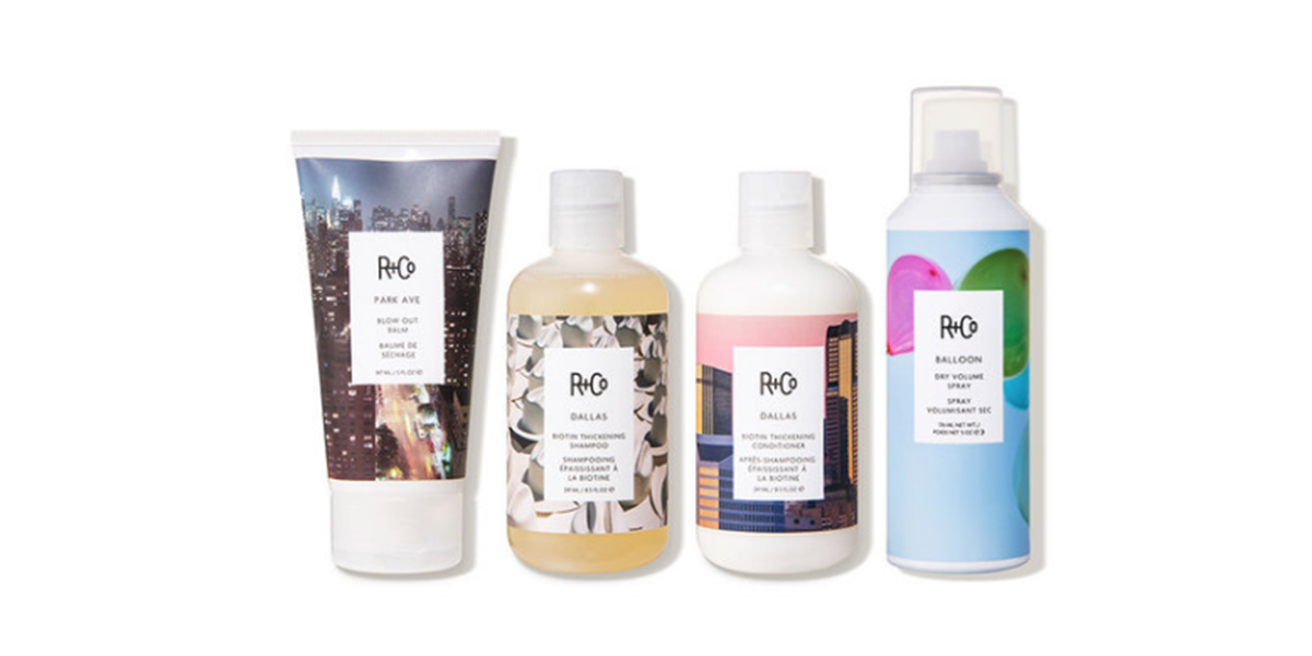 R+Co Dermstore Exclusive Volumizing Kit (4 piece)