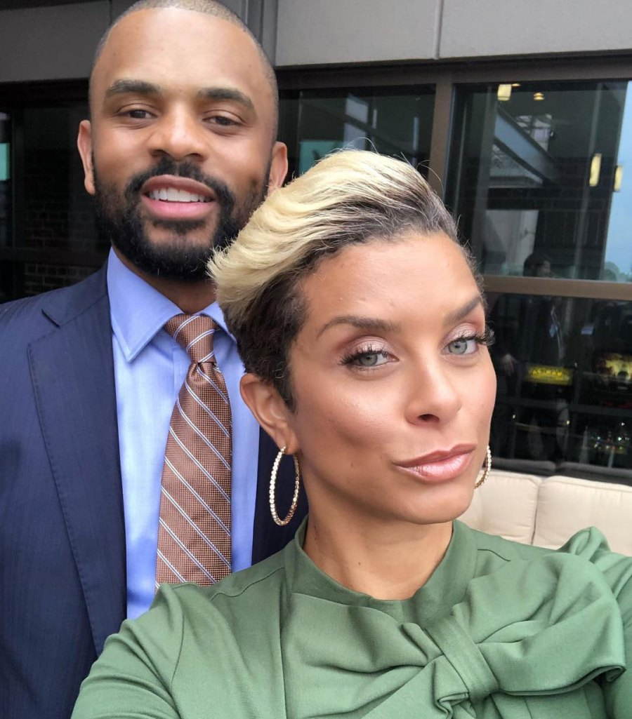 Robyn and Juan Dixon Celebrity Engagements