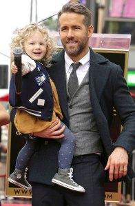 Ryan Reynolds Warn Daughter James About Dangers Being Child Actor
