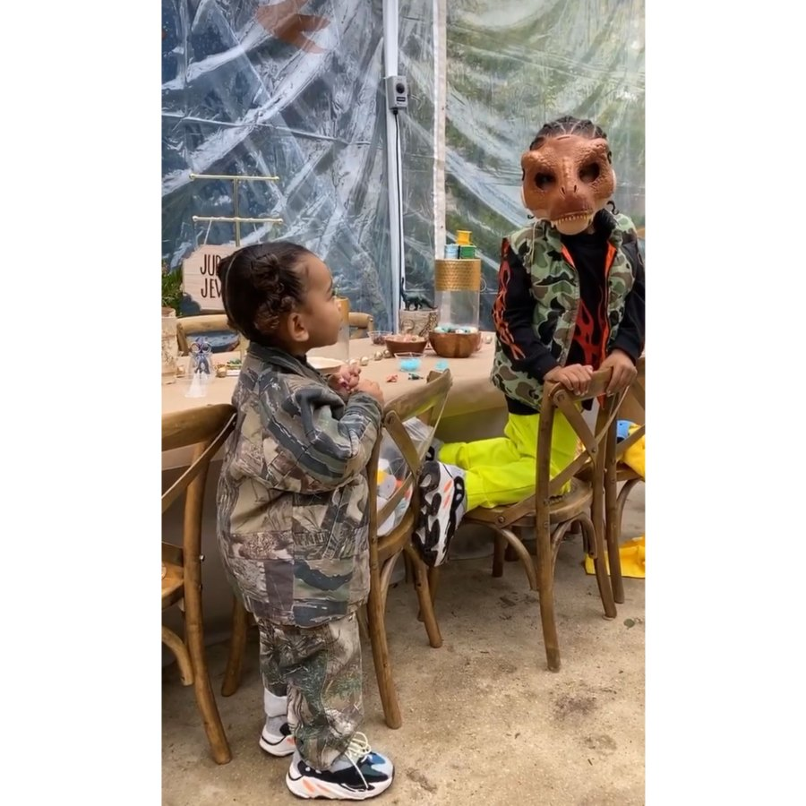 Kim Kardashian Throws Son Saint a 'Jurassic Park'-Themed Birthday Party