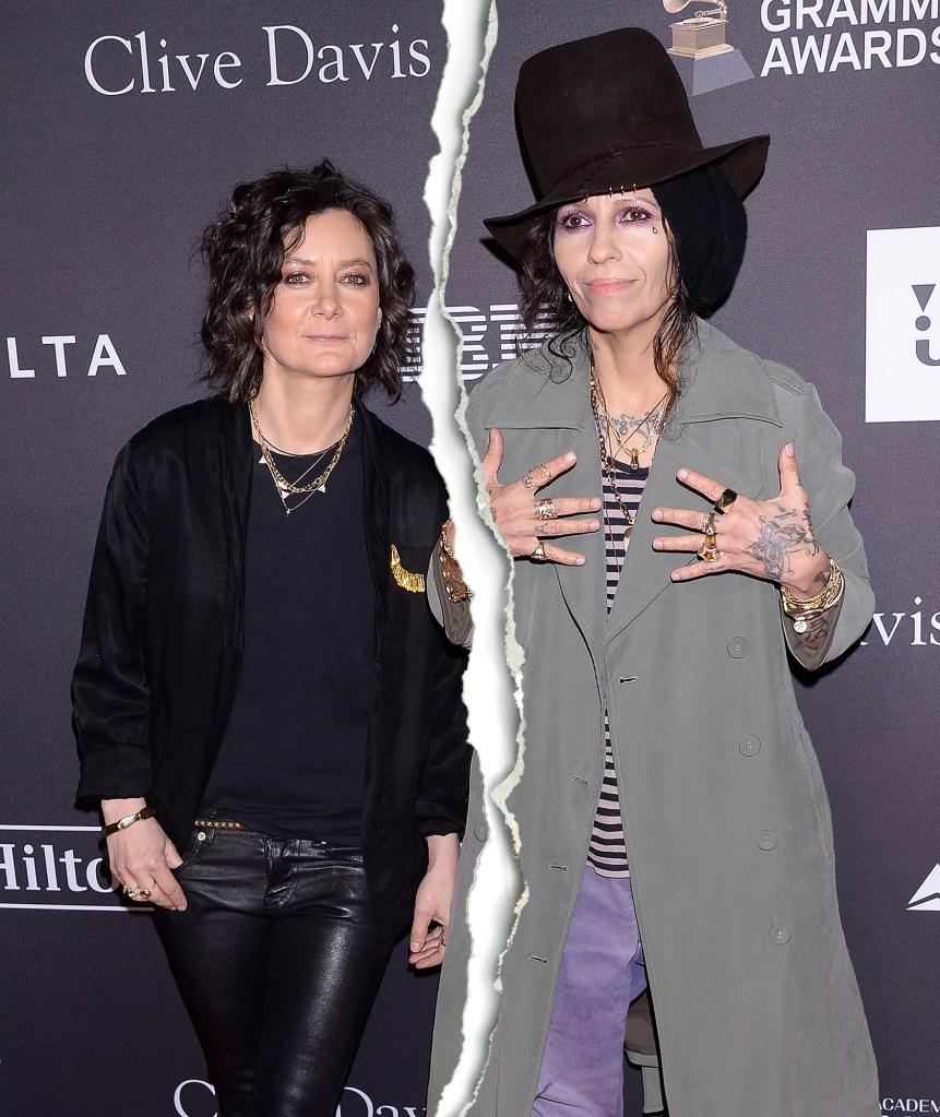 Sara Gilbert and Linda Perry Split