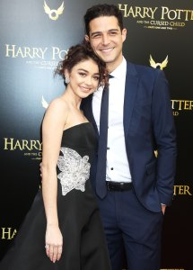 Sarah Hyland Wells Adams Celebrate First Christmas as Engaged Couple