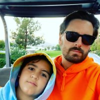 Scott Disick Instagram Mason Sweet Messages for Mason and Reign on Joint Birthday
