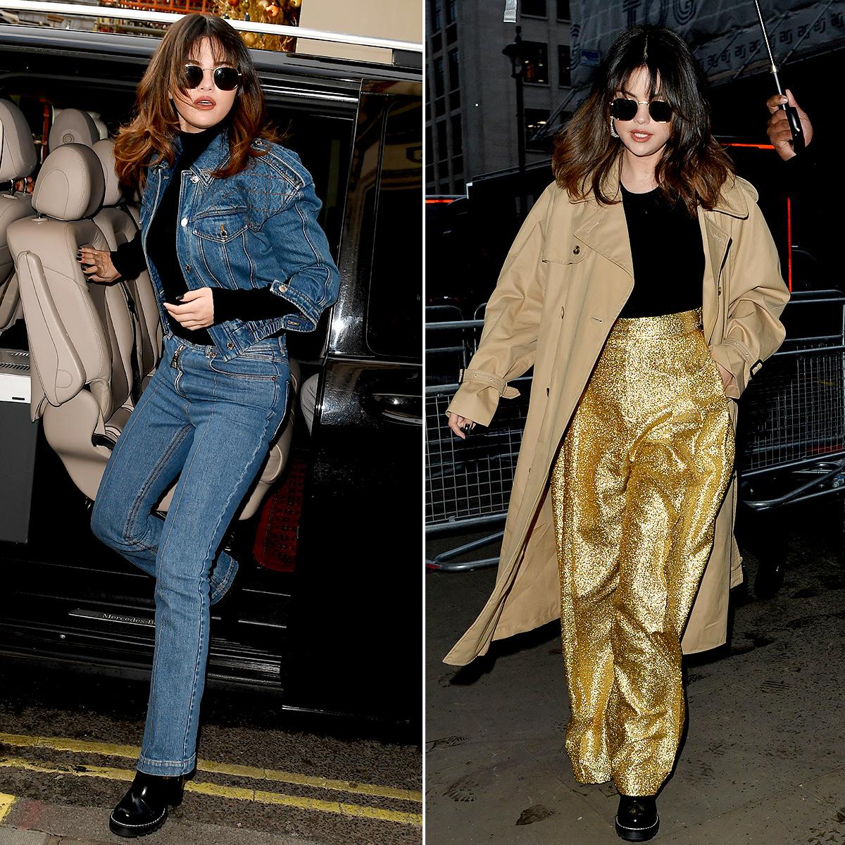 Selena Gomez Paris looks