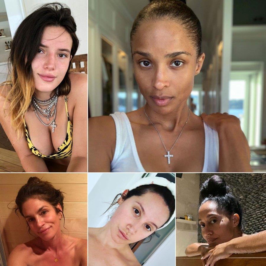 Stars Go Makeup-Free