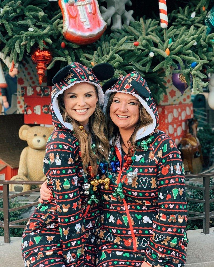 Stars Visit Disney During the Holidays